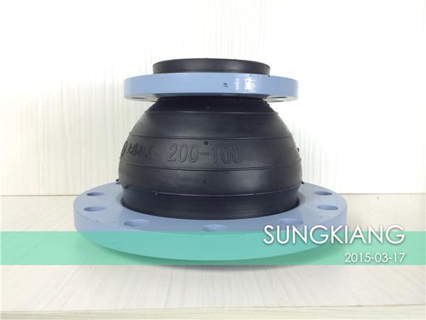 同心异径橡胶防震接头厂家,KYT型同心异径橡胶防震接头价格