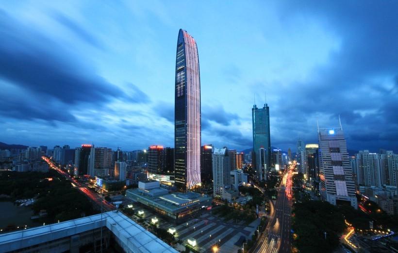深圳京基金融中心项目zta水泵阻尼弹簧减震器案例